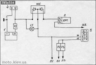 схема зарядного устройства кедр м.