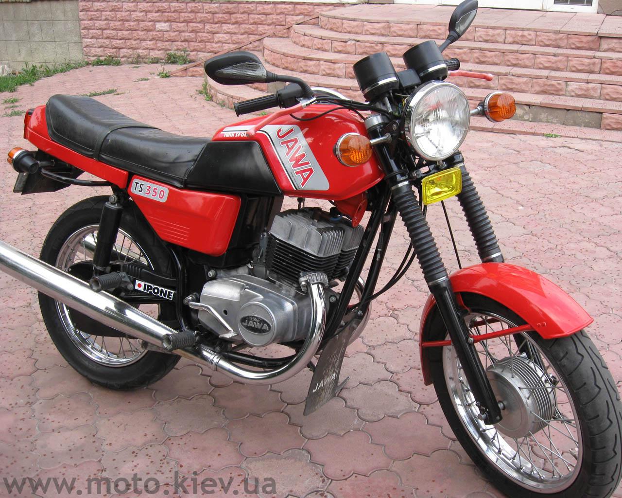 Мотоцикл jawa 350 638 350