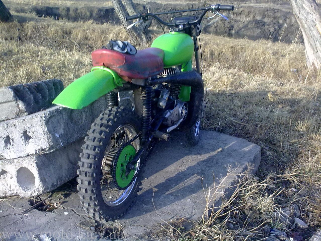 Сделать кроссовый мотоцикл своими руками