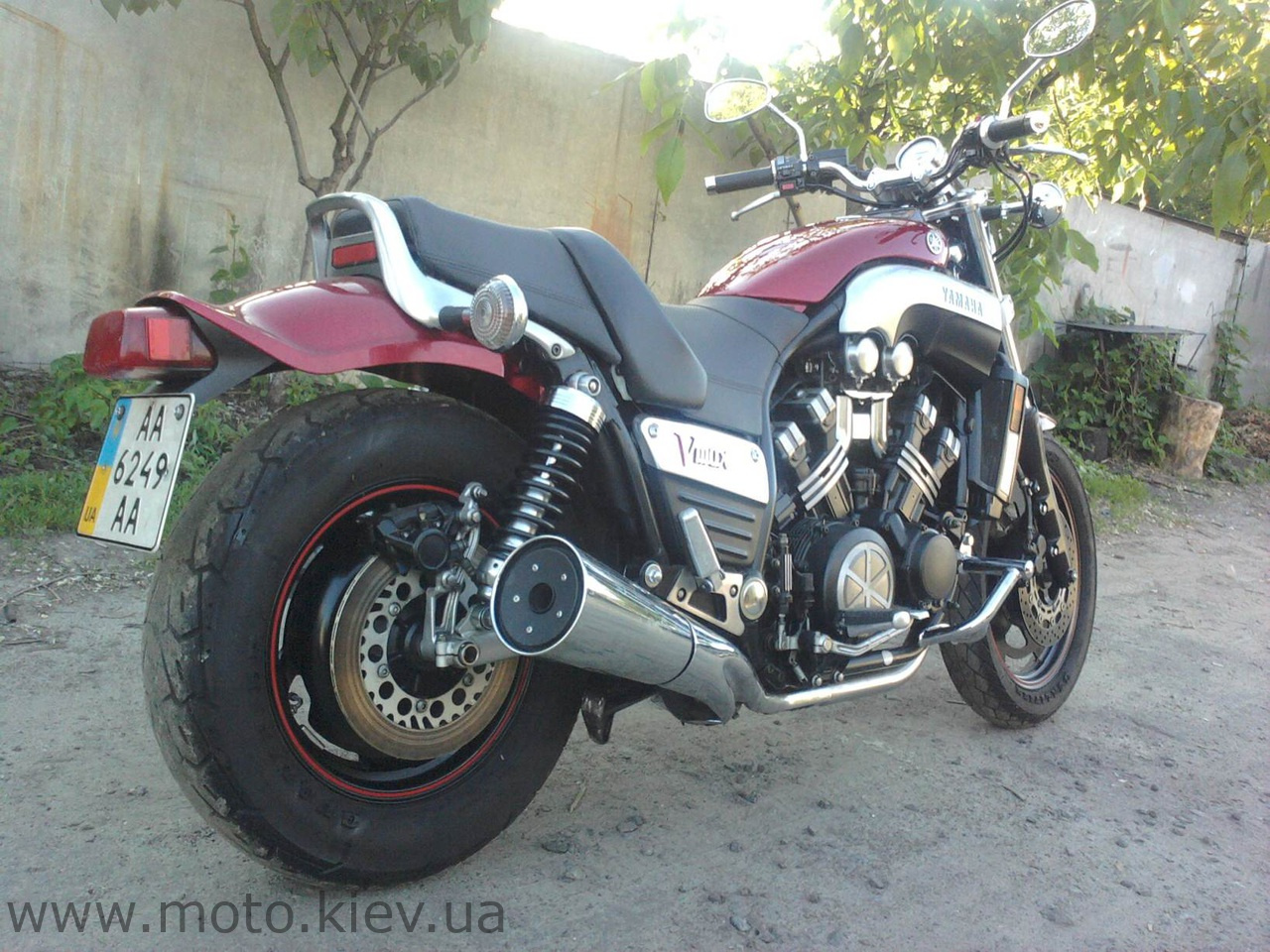 Тюнинг мотоциклов ямаха 5