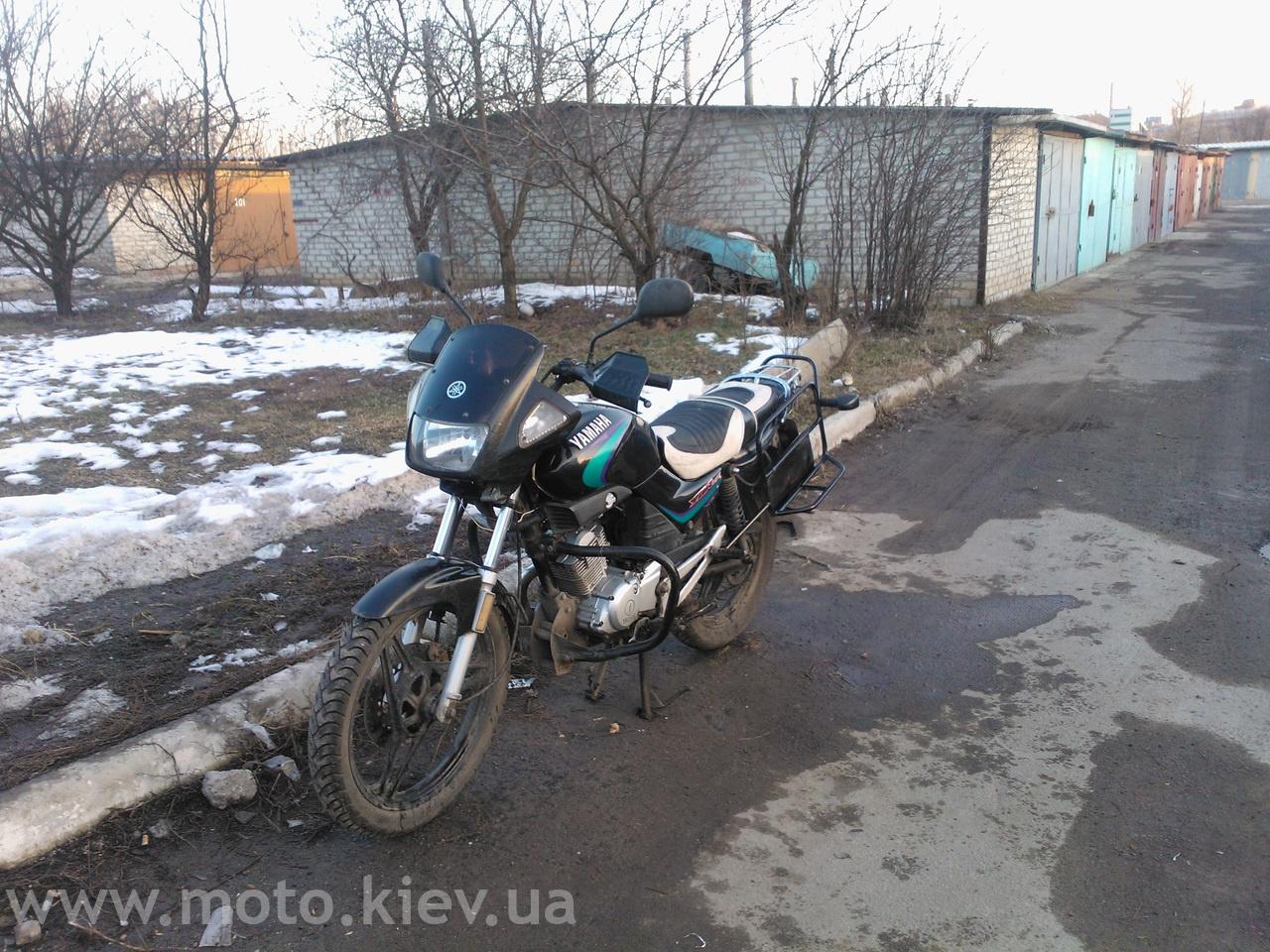 Тюнинг мотоциклов ямаха 3
